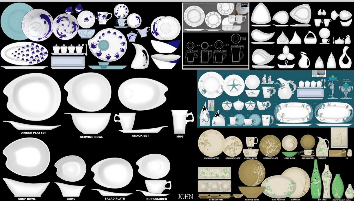 陶瓷餐具优选设计师