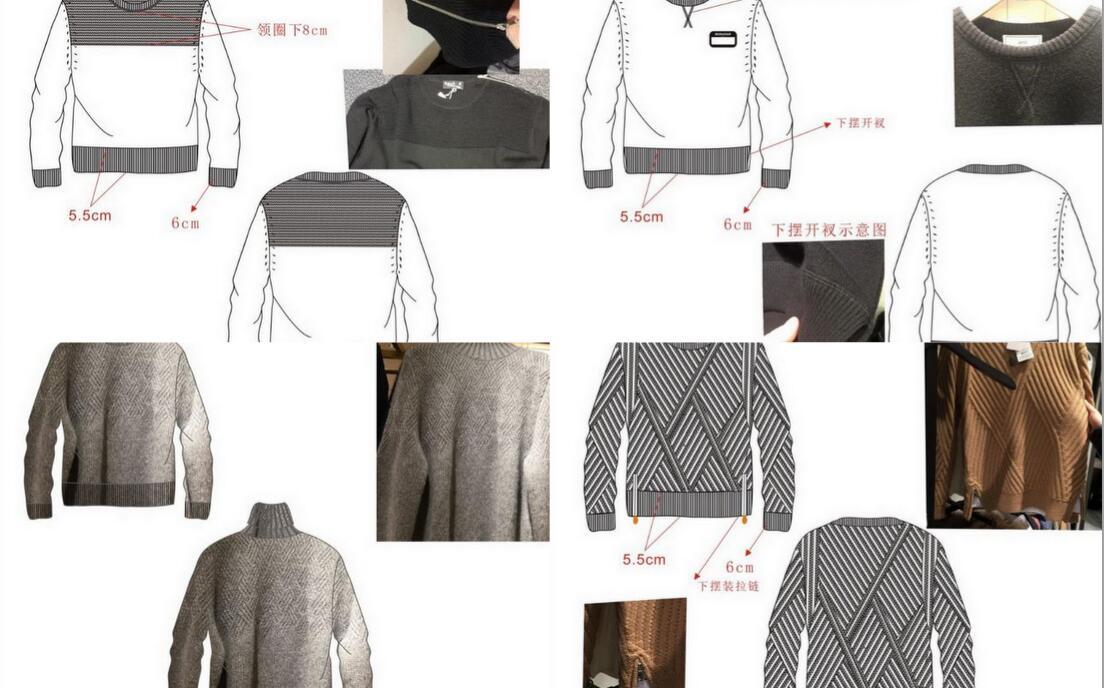 毛衣毛衫设计师优选推荐