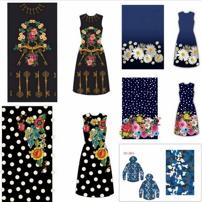 服装数码印花图案设计师优选
