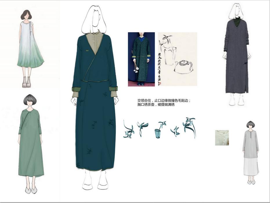 中国风女装设计师优选