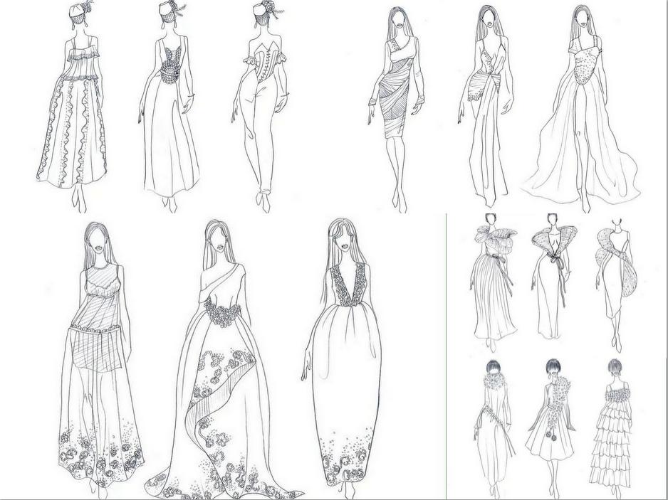 中国巴洛克,古典,现代服装设计, vi设计, 画册,包装设计, ps,cdr,cad