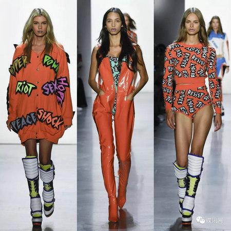 紐約設計師異想天開,用炫麗色彩包裹下一季時裝(圖2)