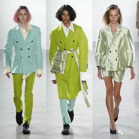紐約設計師異想天開,用炫麗色彩包裹下一季時裝(圖18)
