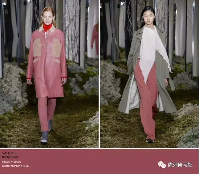 巴斯克衫绿+樱桃酒红+··· 这四大颜色穿上显贵又高级!(图13)