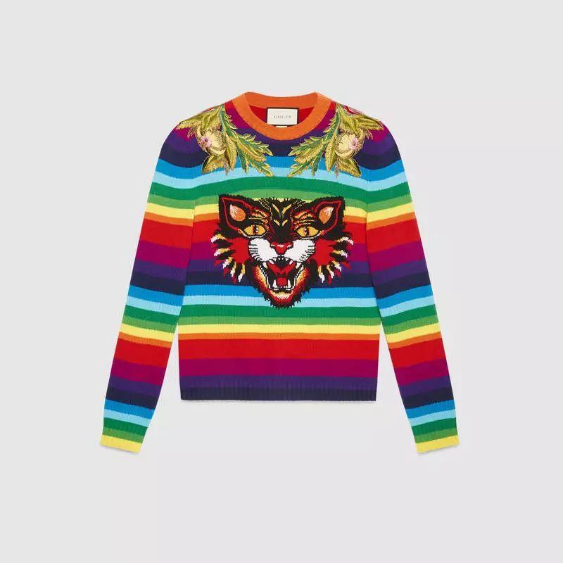 今年最流行的印花毛衣都在這里,誰穿誰好看!(圖25)