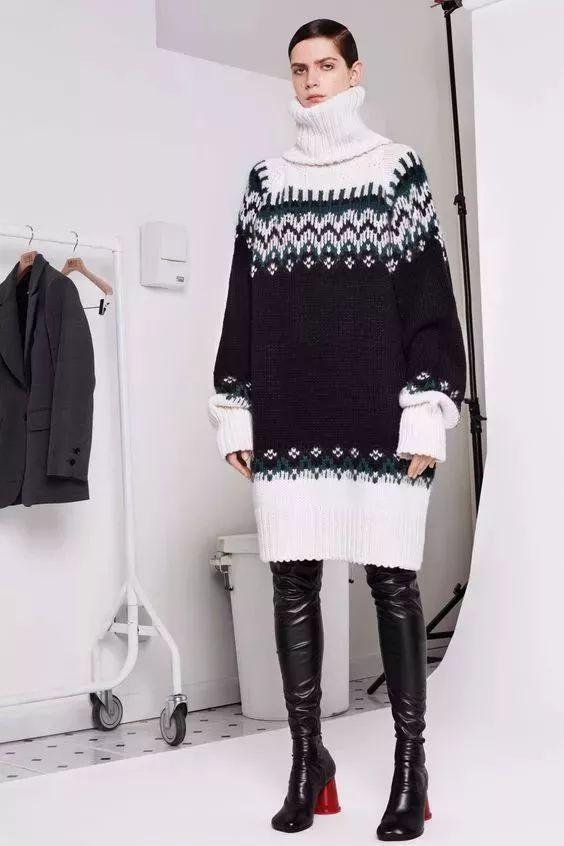 今年最流行的印花毛衣都在這里,誰穿誰好看!(圖13)