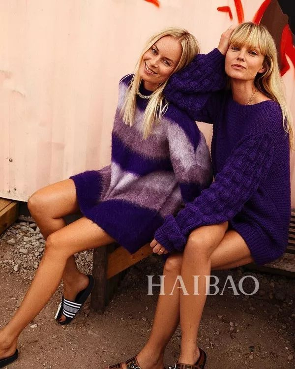 今年最流行的印花毛衣都在這里,誰穿誰好看!(圖17)