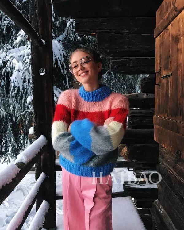 今年最流行的印花毛衣都在這里,誰穿誰好看!(圖20)