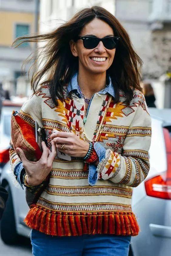 今年最流行的印花毛衣都在這里,誰穿誰好看!(圖9)