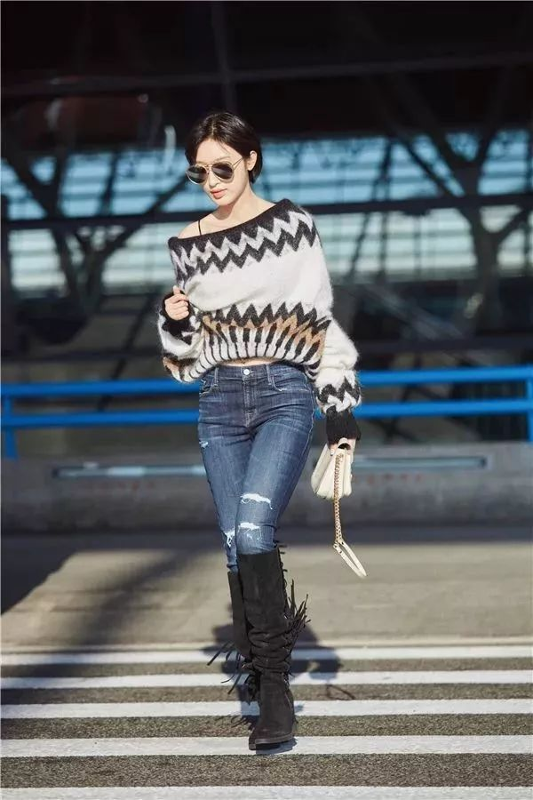 今年最流行的印花毛衣都在這里,誰穿誰好看!(圖15)