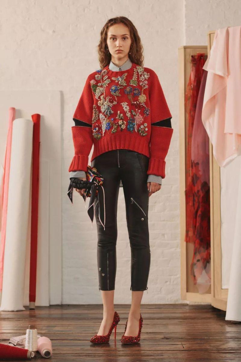 今年最流行的印花毛衣都在這里,誰穿誰好看!(圖28)