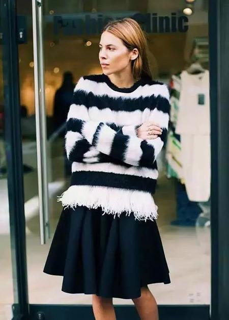 今年最流行的印花毛衣都在這里,誰穿誰好看!(圖23)