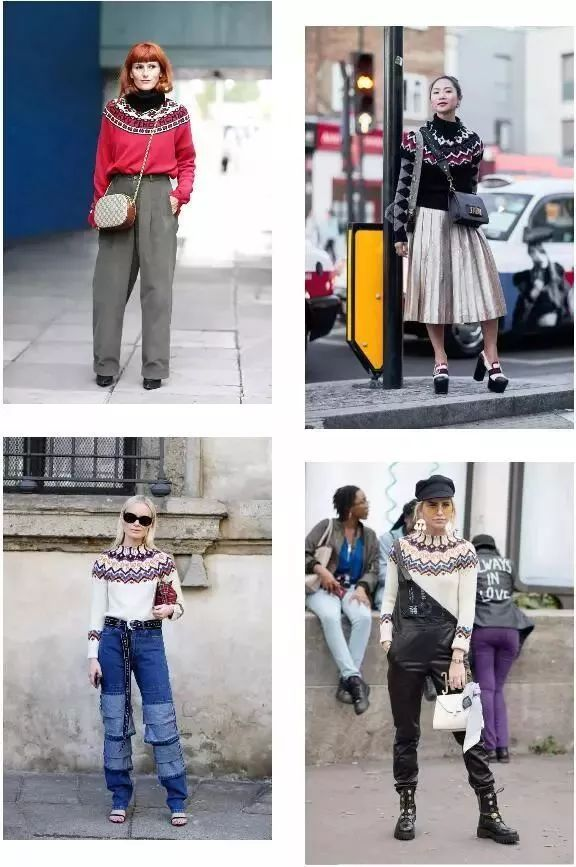 今年最流行的印花毛衣都在這里,誰穿誰好看!(圖11)