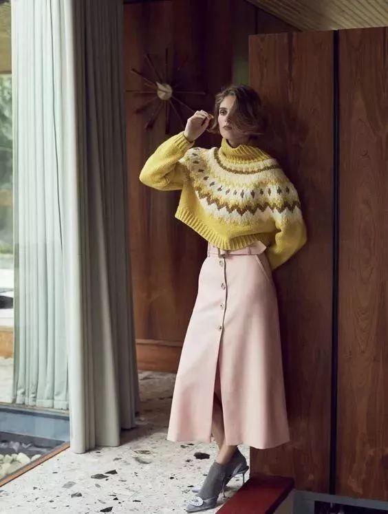 今年最流行的印花毛衣都在這里,誰穿誰好看!(圖12)