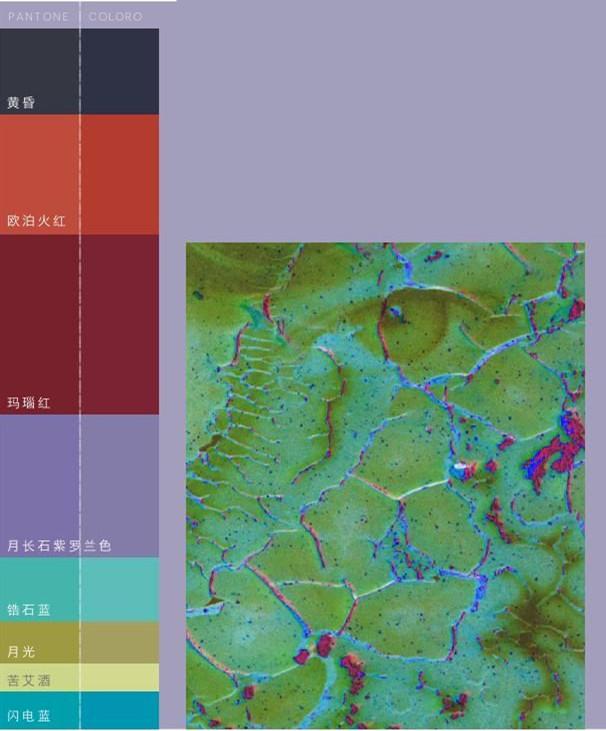 月光滤镜下的魔幻,2019/20秋冬女装色彩趋势(图9)