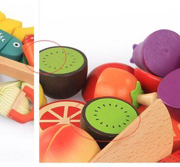 水果蔬菜切切乐切切看木质玩具设计